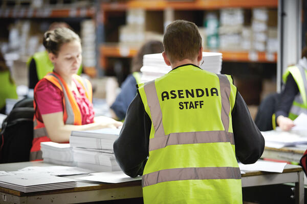 Asendia UK Staff